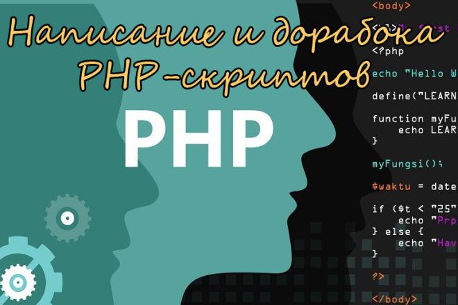 Написание и доработка скриптов на PHP 1 - kwork.ru
