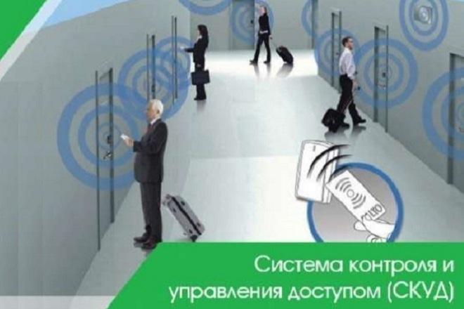 Создам программу учета рабочего времени СКУД 1 - kwork.ru