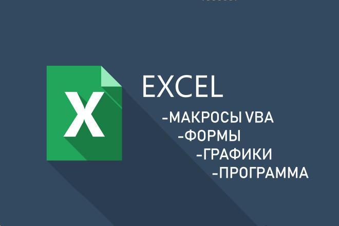 Напишу макрос в Excel VBA или exe 14 - kwork.ru