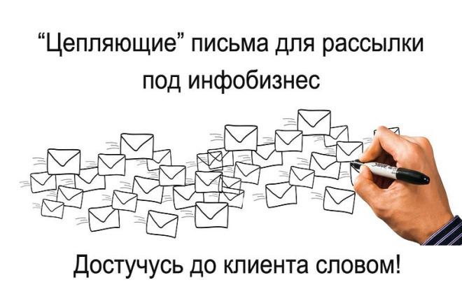 Письмо или цепочка e-mail для инфобизнеса 1 - kwork.ru