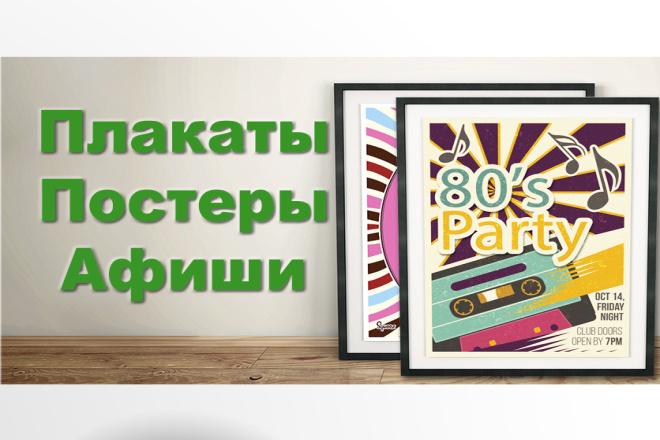 Создание плакатов постеров