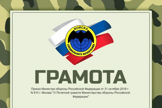 Изготовлю шаблон диплома, сертификата или грамоты 13 - kwork.ru