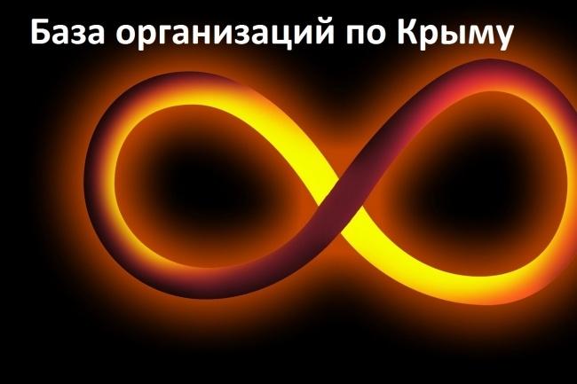 База Крым организации 1 - kwork.ru
