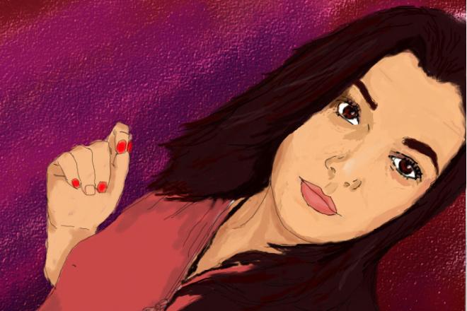 Нарисую портрет по фотографии 10 - kwork.ru