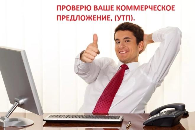 Проверю ваше коммерческое предложение, УТП 1 - kwork.ru