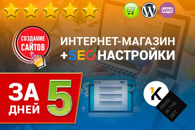 Создание готового интернет-магазина на Вордпресс WooCommerce с оплатой 17 - kwork.ru