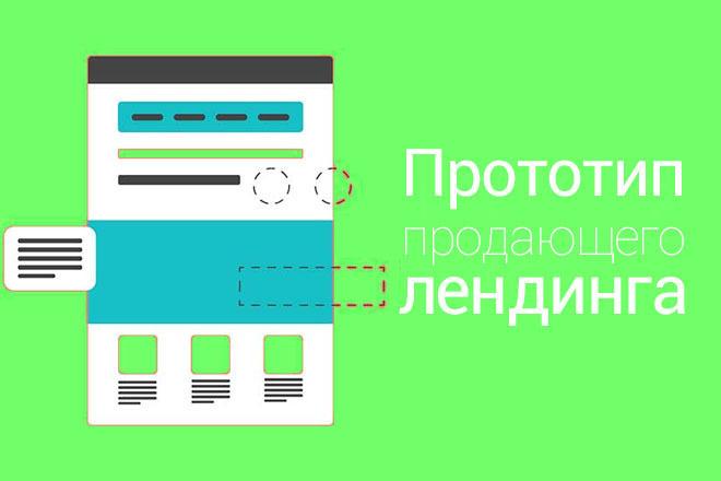 Создам структуру, прототип продающего лендинга, одностраничника 4 - kwork.ru