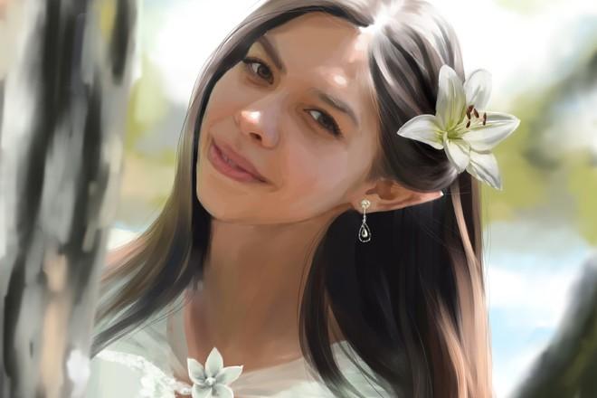 Рисую цифровые портреты по фото 53 - kwork.ru