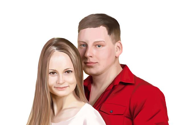 Рисую цифровые портреты по фото 55 - kwork.ru
