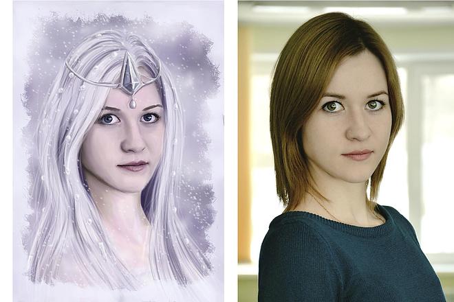 Рисую цифровые портреты по фото 58 - kwork.ru