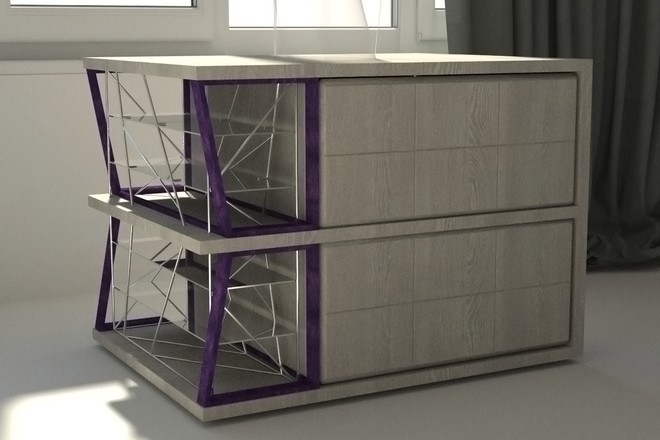 3д моделирование мебели 7 - kwork.ru
