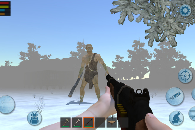 Исходник популярной игры Forest Survival Winter Craft. unity package 2 - kwork.ru