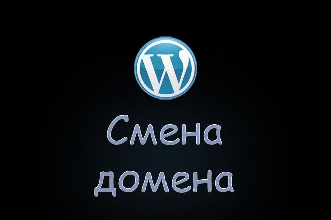 WordPress. Переезд на новый домен 1 - kwork.ru