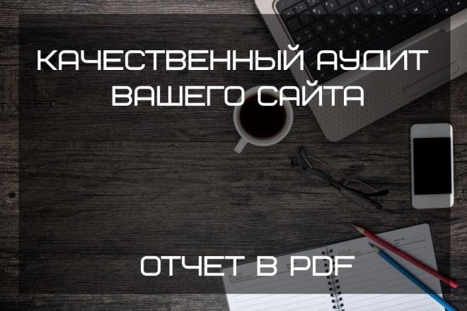 Качественный аудит Вашего сайта с пакетом услуг 1 - kwork.ru