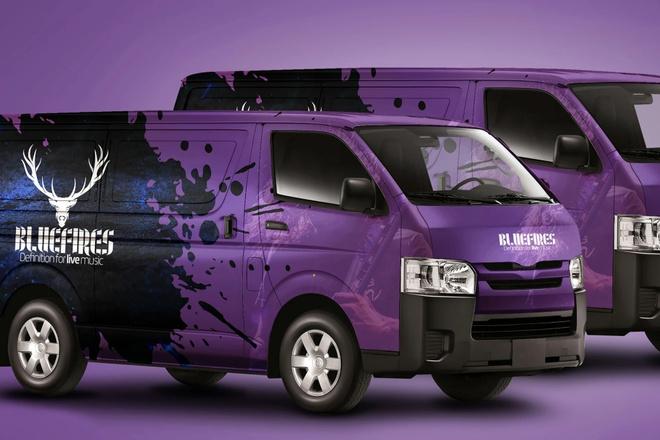 Дизайн рекламы на транспорте, брендирование газелей, автобусов 5 - kwork.ru