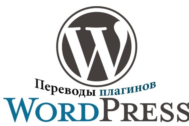 Переведу с английского на русский плагины и темы WordPress 1 - kwork.ru