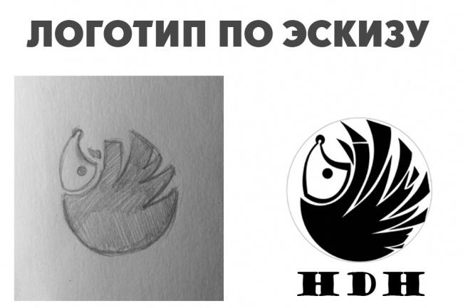 Отрисовка в вектор 4 - kwork.ru