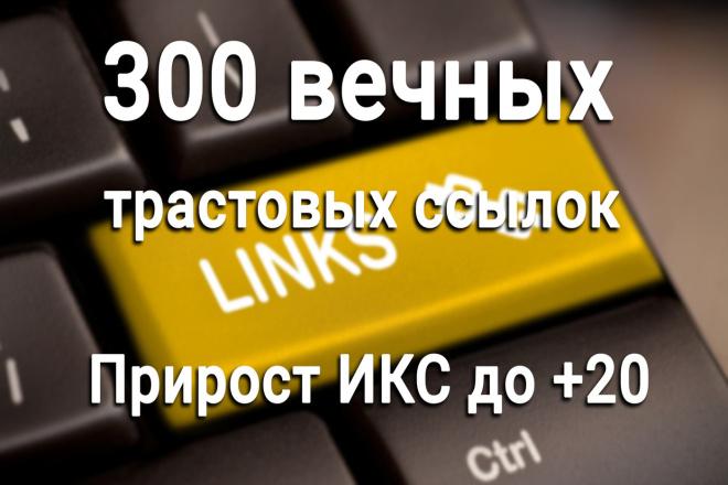 Профильные ссылки. 300 вечных трастовых профильных ссылок с ИКС до 20 1 - kwork.ru