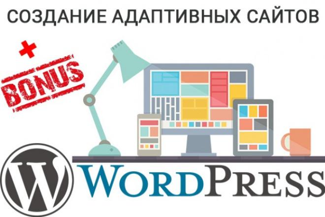 Сайт на WordPress. Качественно и быстро 1 - kwork.ru