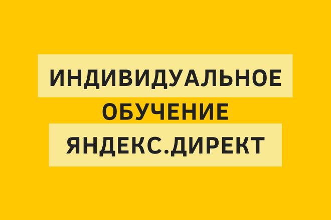 Индивидуальное обучение Яндекс. Директ в LIVE режиме по скайпу 1 - kwork.ru