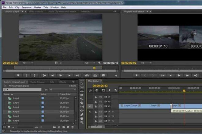 Фотошоп и видеомонтаж 1 - kwork.ru