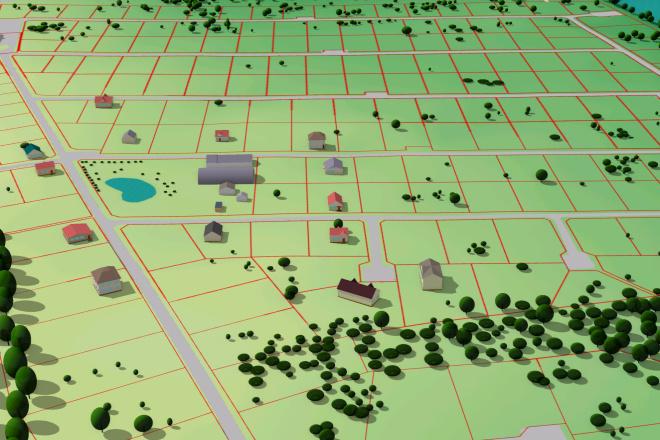 Выполню трехмерную модель местности 13 - kwork.ru