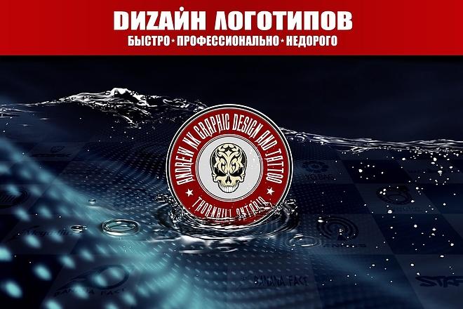 Сделаю логотип по вашему эскизу 107 - kwork.ru