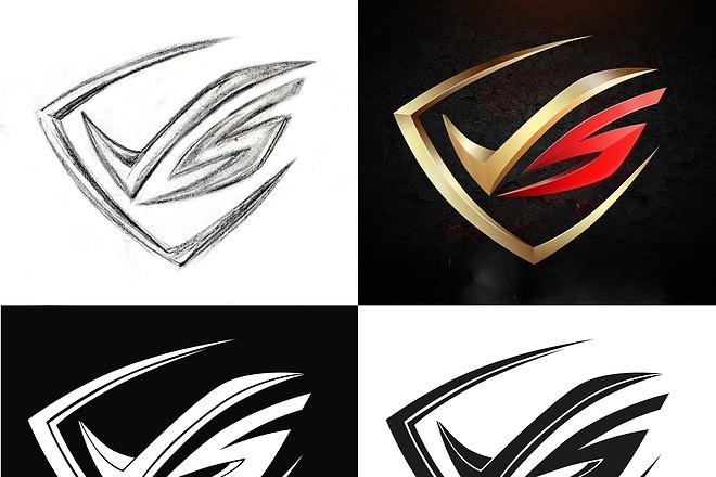 Сделаю логотип по вашему эскизу 108 - kwork.ru