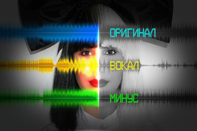 Подготовлю трек к последующему дубляжу, отделю голос от фонограммы 1 - kwork.ru