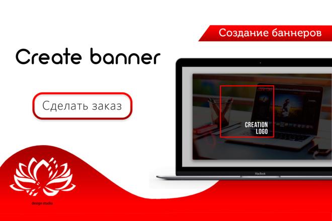 Создание баннеров 4 - kwork.ru