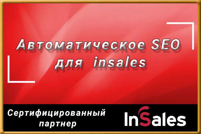 Автоматическое SEO для магазинов на insales 1 - kwork.ru
