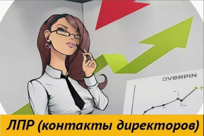 Директора и ЛПР компаний РФ в одной базе 1 - kwork.ru
