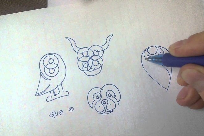 Ваш логотип по вашему рисунку 3 - kwork.ru