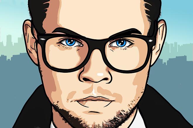Аватарка из фото в мультяшном стиле