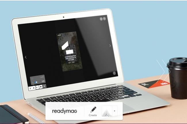 Создам яркий анимационный Лендинг, мини сайт на Readymag 5 - kwork.ru