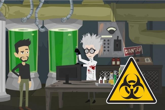 Вирусное анимационное видео - то, что выстреливает 2 - kwork.ru