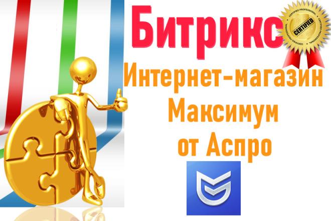 Максимум от Аспро - интернет-магазин aspro. max 8 - kwork.ru