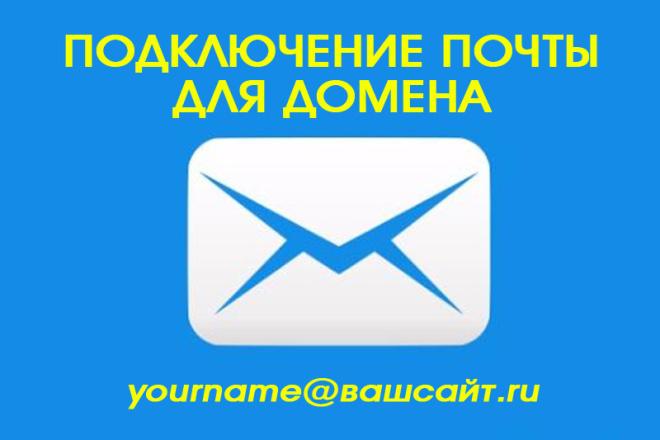 Подключу домен к почте mail.ru или Яндекс 1 - kwork.ru