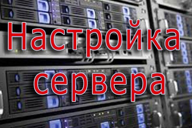 Настройка VPS, VDS выделенного сервера 1 - kwork.ru