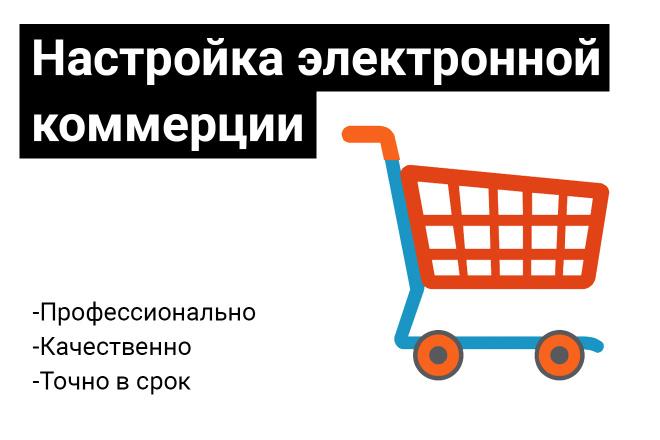 Настрою электронную торговлю Google и Яндекс 1 - kwork.ru