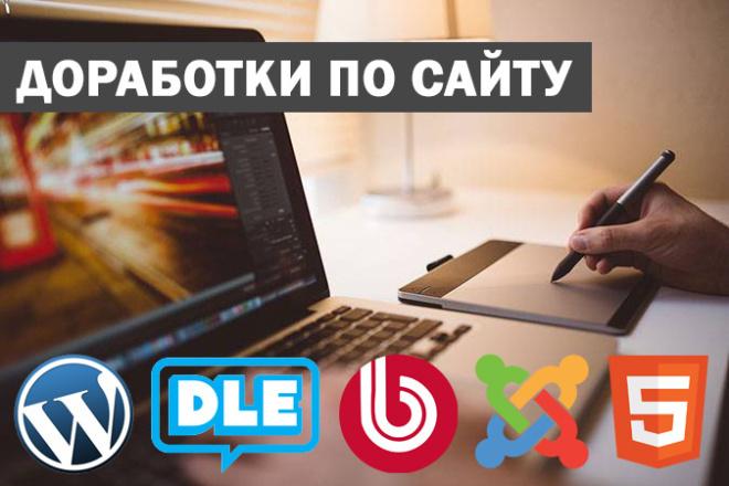 Доработки по Wordpress 1 - kwork.ru