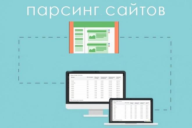 Профессиональный парсинг 1 - kwork.ru