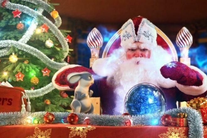 Новогодние видео открытки 1 - kwork.ru