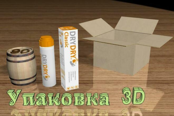 Упаковка в 3D 11 - kwork.ru