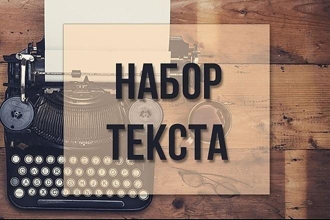 Набор текста с аудио и видео 1 - kwork.ru