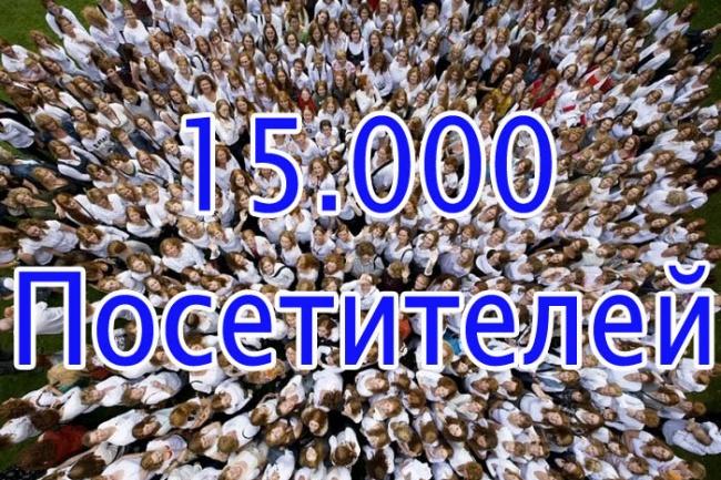 15 000 уникальных посетителей на сайт с поисковых систем 1 - kwork.ru