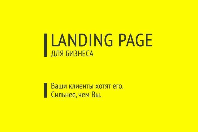 Продающий текст для Landing page 1 - kwork.ru