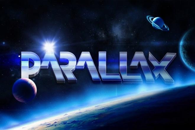 2D видео анимация Parallax 6 - kwork.ru
