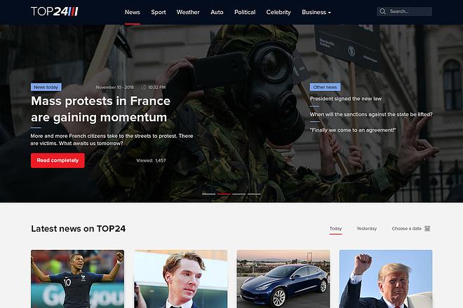 Дизайн сайтов в Figma. Веб-дизайн 21 - kwork.ru