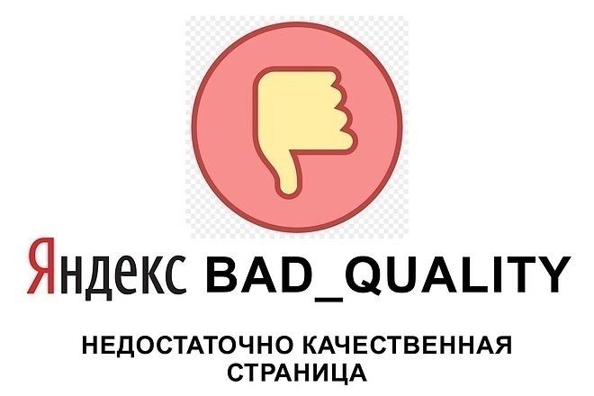 Снятие фильтра Недостаточно качественная страница. Skype-консультация 1 - kwork.ru